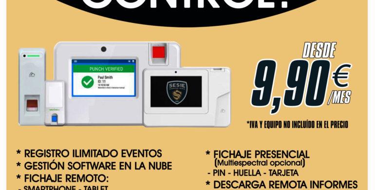 instalación cámara control presencia Zaragoza