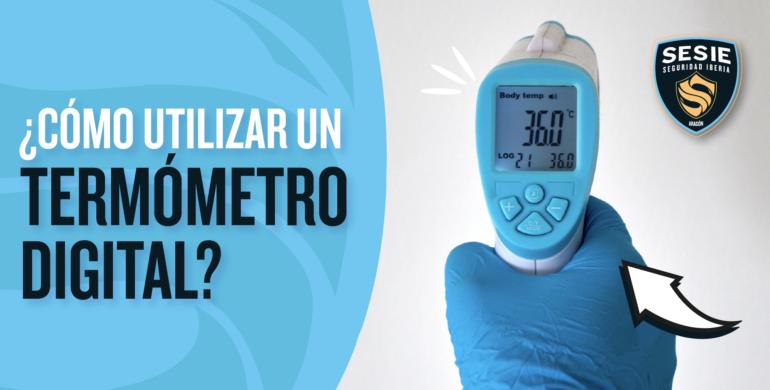 Termometro digital laser para personas