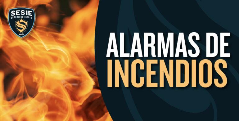 alarmas de incendios