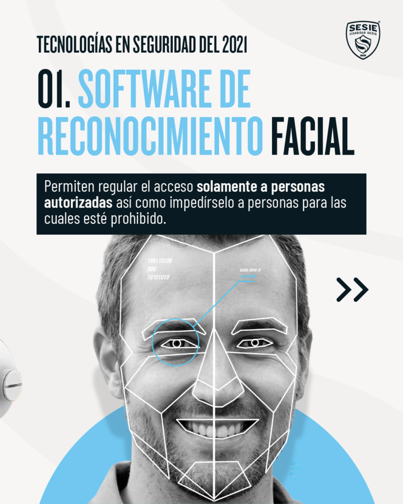 Software de reconocimiento facial   tecnologías en seguridad del 2021