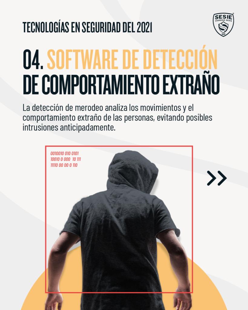Software de detección de comportamiento extraño   tecnologías en seguridad del 2021   sesie seguridad iberia