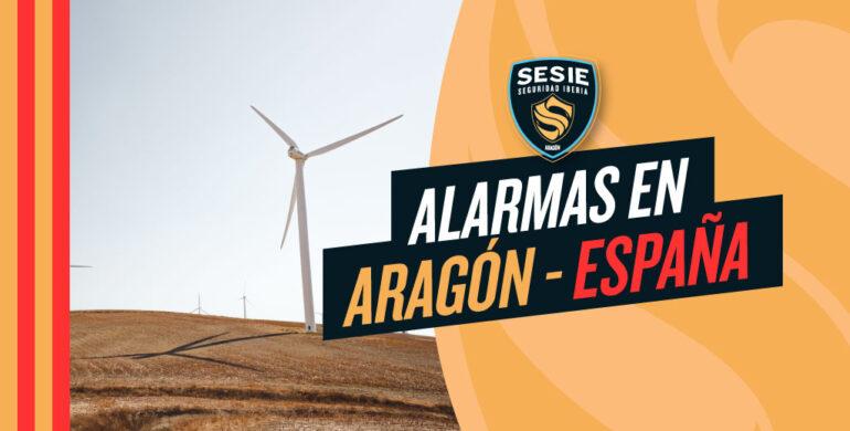 Alarmas en Aragon