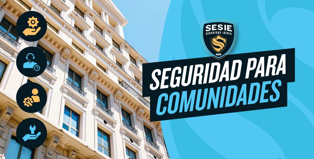Alarmas para comunidades en Zaragoza