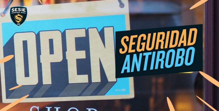 Sistema de seguridad antirrobo para negocios y tiendas